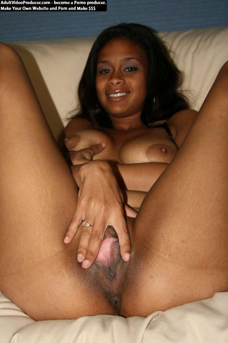 Black girl white guy creampie