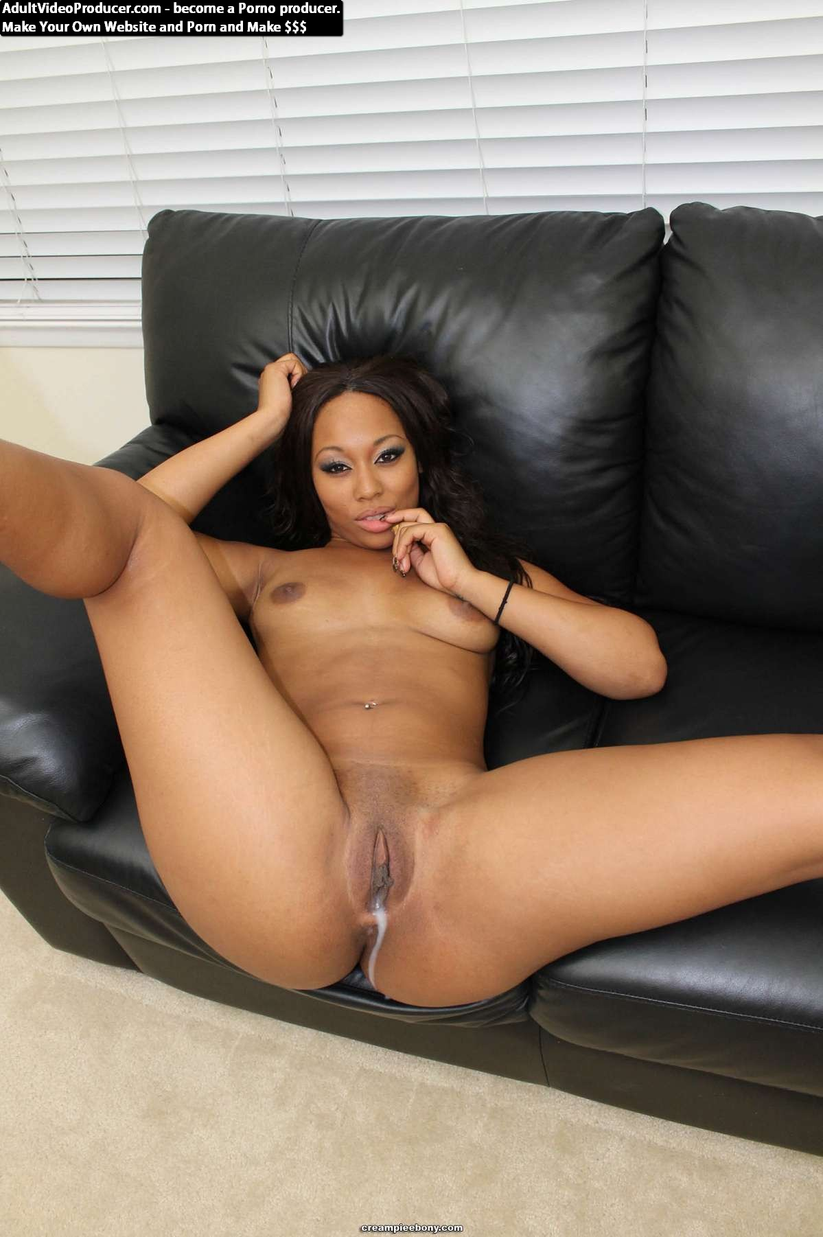 Leilani Leeane creampie : Ebony Creampies